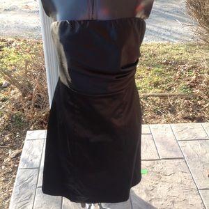Womans Strapless Express Dress.